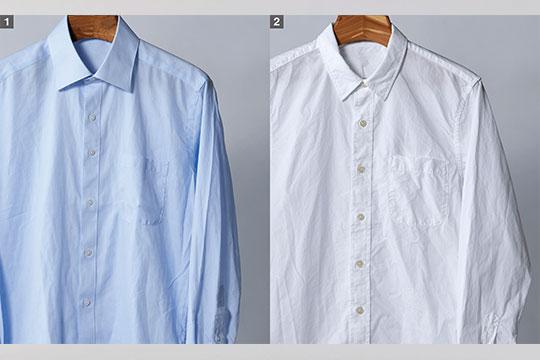 シャツの洗濯も自宅でラクラク!大風量でシワを軽減